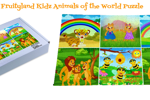 Fruityland Kidz 500 Piece Puzzle Collections