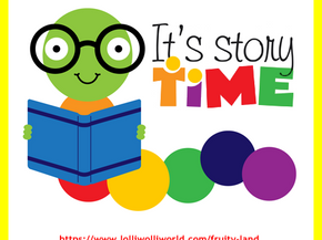 Join us for Weekly Story-time!