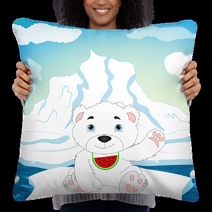 Yuka Polar Bear Fruity Land  Pillow