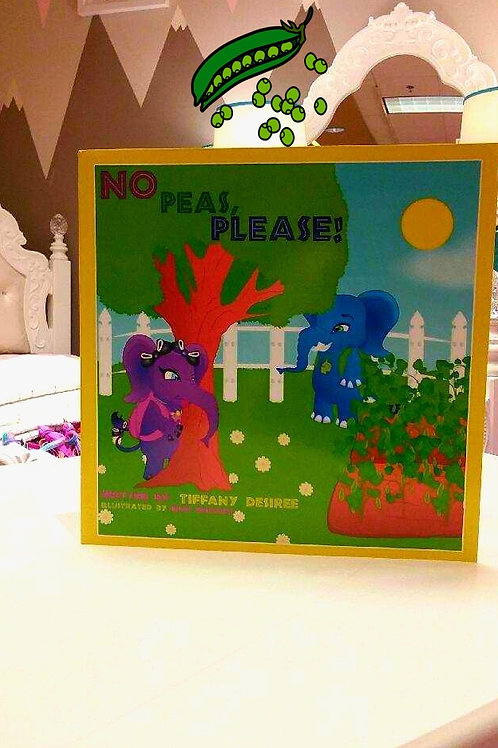 "Lolliwolliworld Publishing Presents; ""No Peas, Please!"""