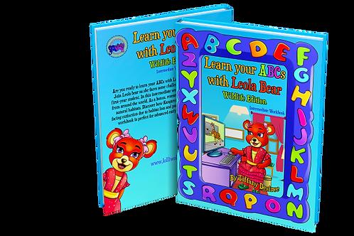 Learn your ABCs with Leola Bear Wildlife Edition