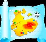 Fruityland Map