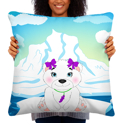 Yura Polar Bear Fruityland  Pillow