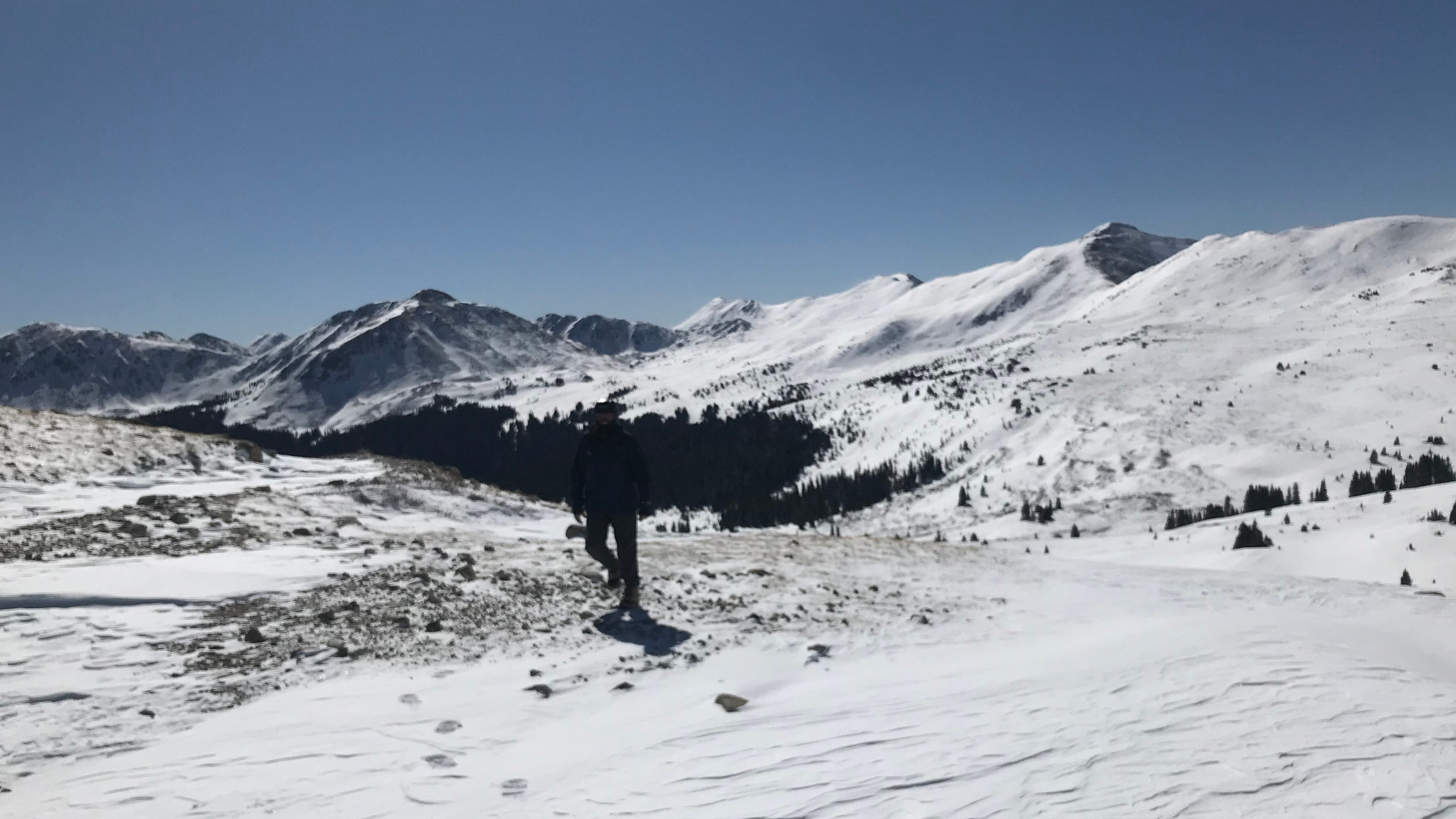 Tincup Pass looking east