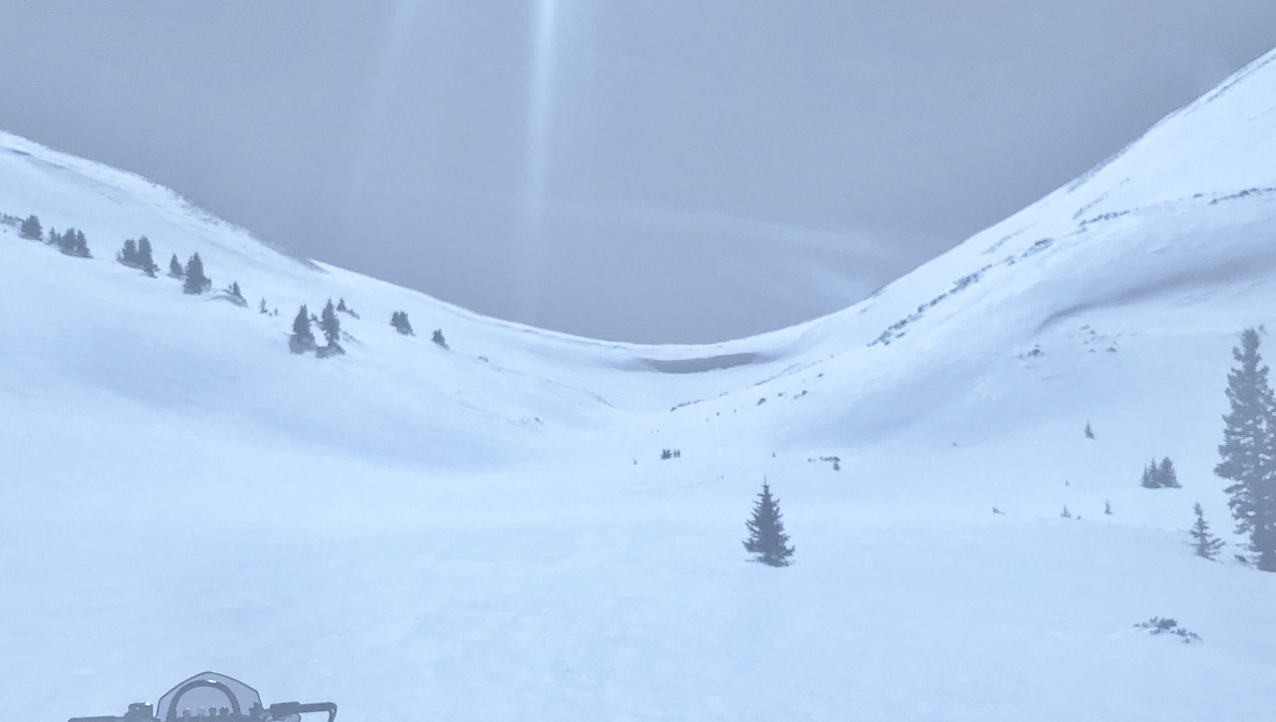 Cornice on Napoleon Pass