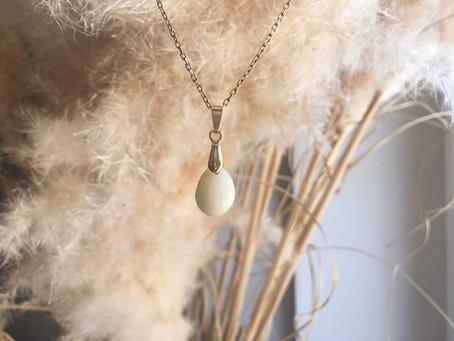 Collier perle de lait maternel - LACKTO
