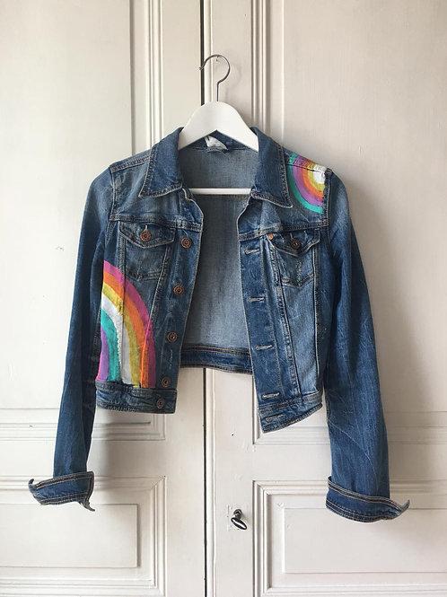 Veste rainbow