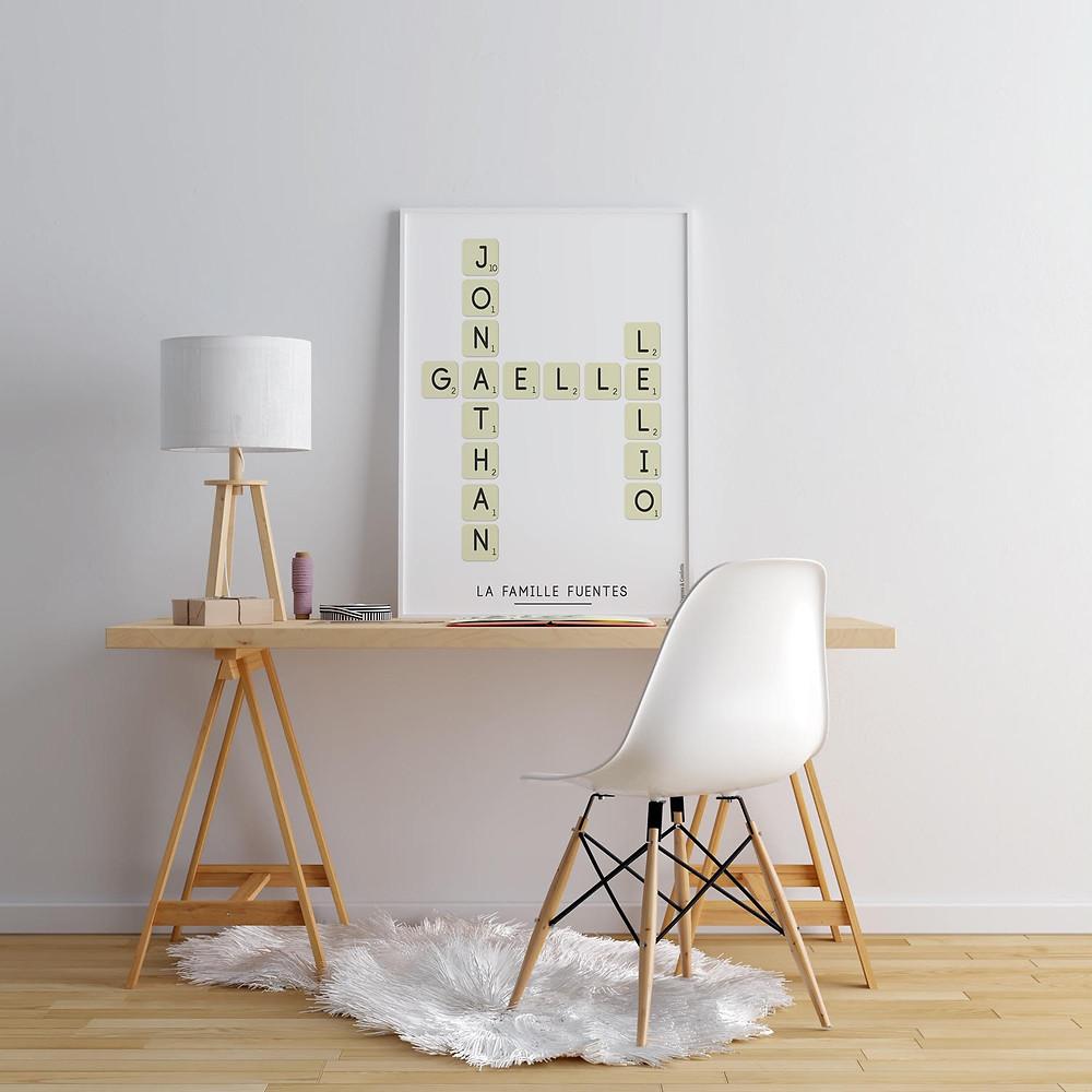 affiche personnalisé