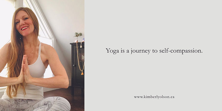Yoga is a journey to self-compassion 202