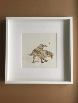 Shiny Pretty Birds $650
