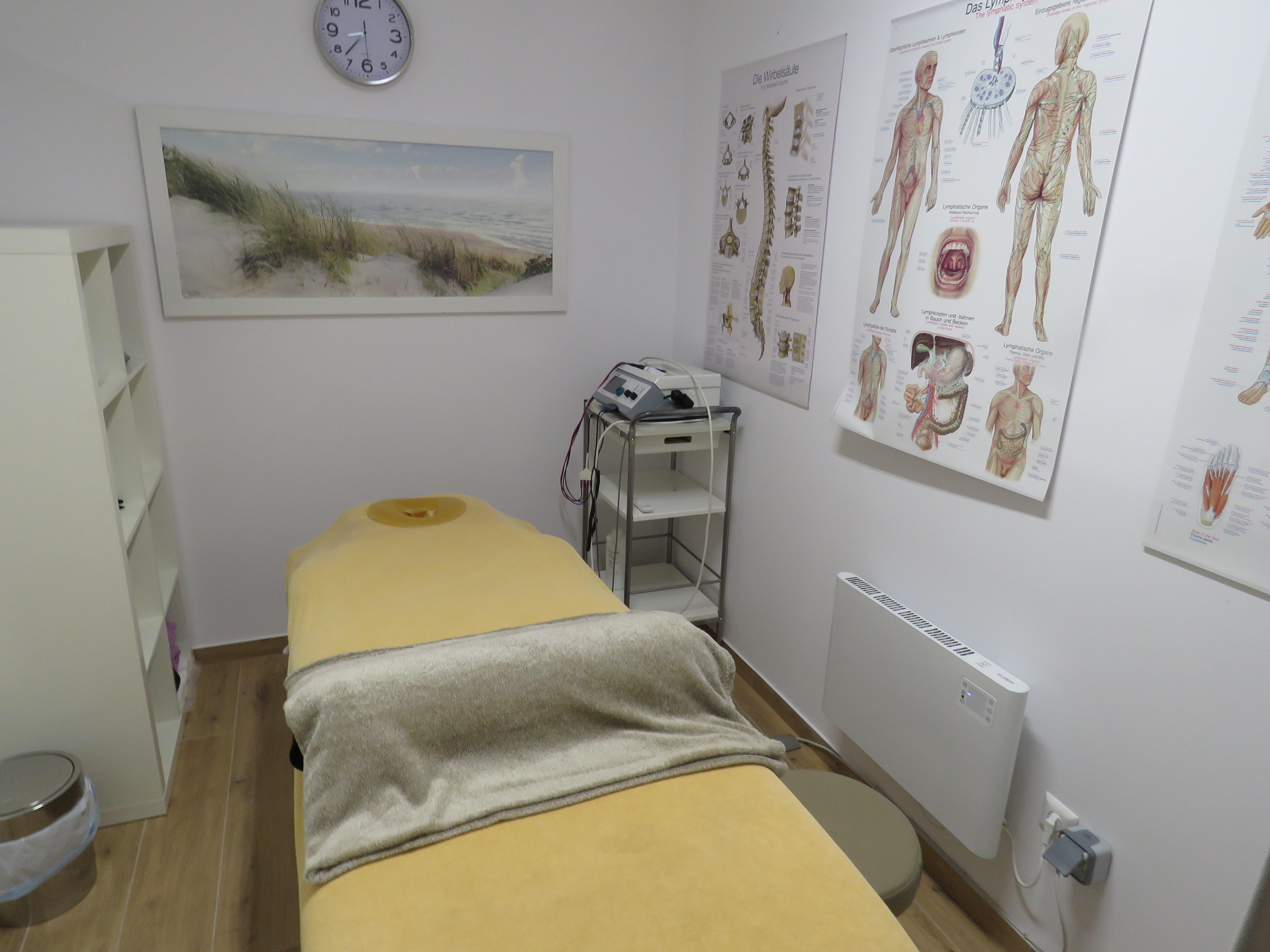 Heilmassage und Schmerztherapien