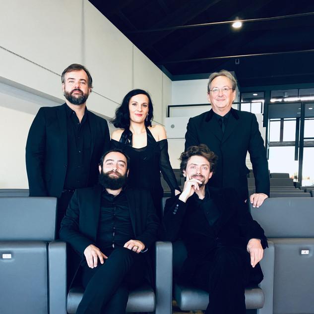 L'Ensemble Tarentule et Peter Phillips (chef des Tallis Scholars) 2019