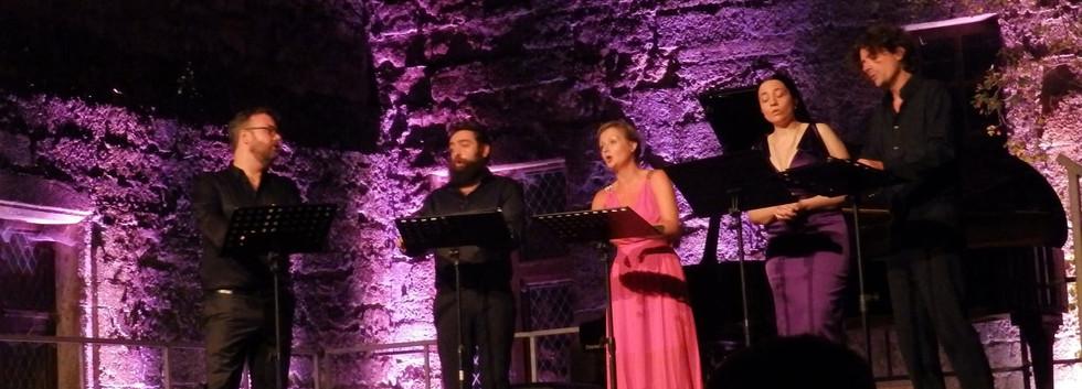 Quintette Tarentule au Festival Déodat d