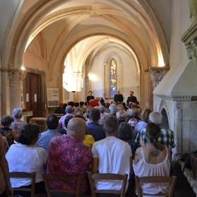 Chapelle Ile Barbe Tarentule