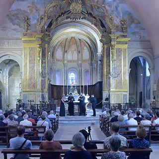 Festival Déodat de Séverac Ensemble Tarentule Quatuor Live Saint-Papoul