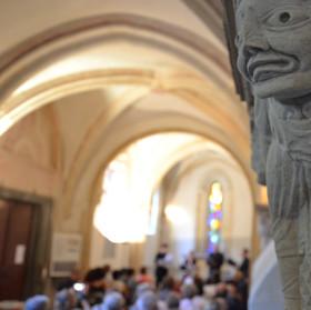 Chapelle Ile Barbe - Tarentule