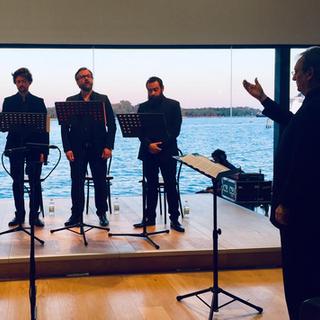 Ensemble Tarentule dirigé par Peter Phillips, Venise (Italie)