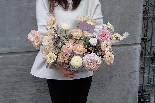 Bucket Flower Arrangement