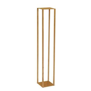 Gold Metal Pillar Display Stand