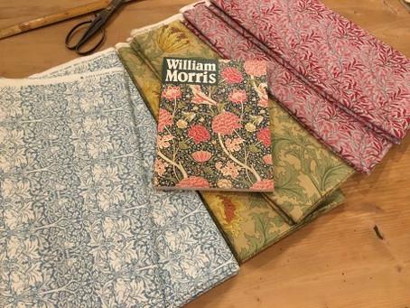 William Morris の生地で布団を仕立てませんか?