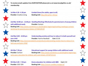 Workshops and courses for parent/carers