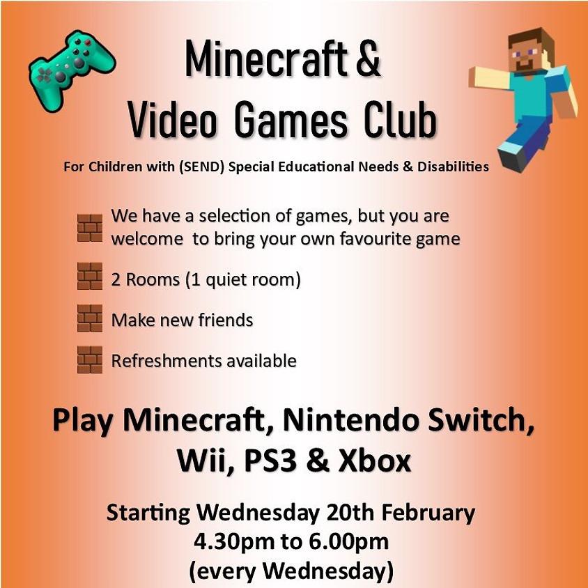 Minecraft & Video Games Club - July