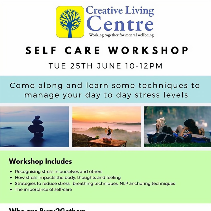 Self-Care Workshop by Creative Living