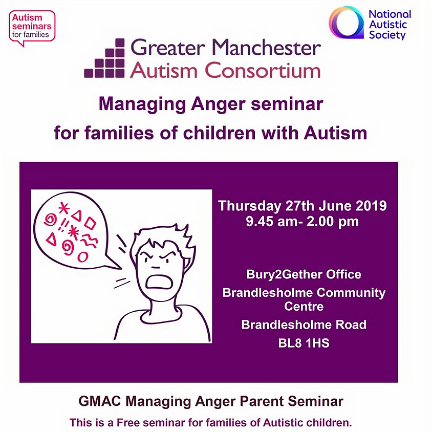 Managing Anger Seminar by NAS
