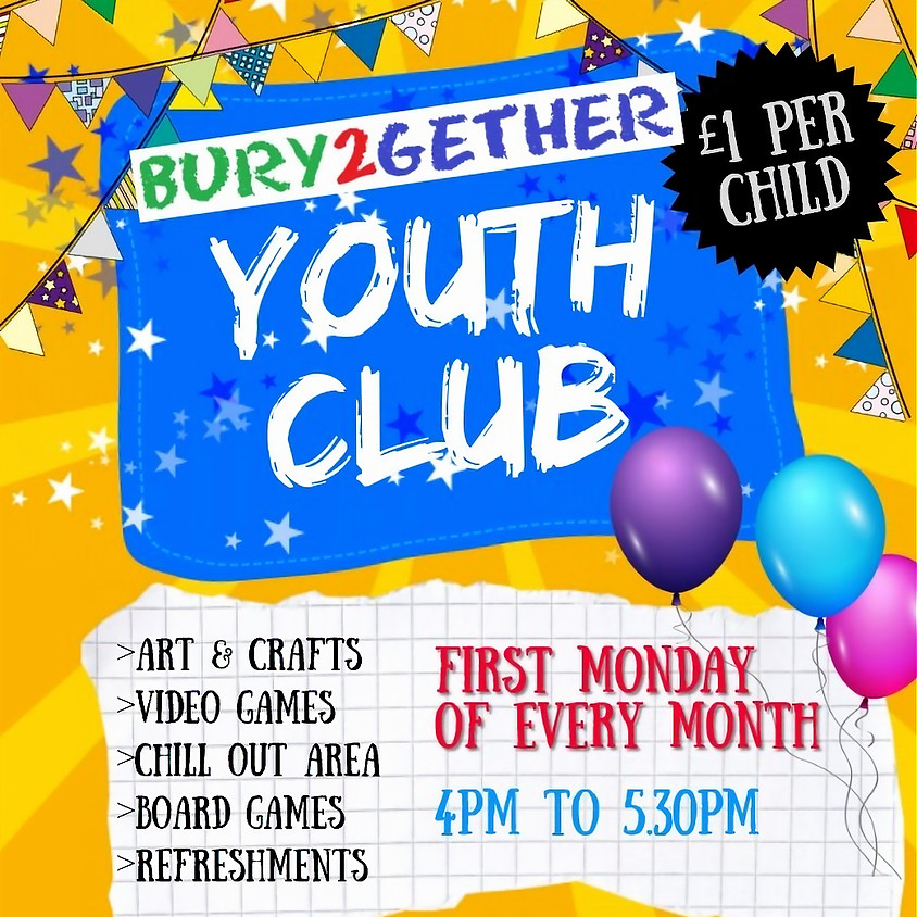 Youth Club (10yrs & over) for children with SEND