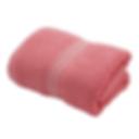 ผ้าเช็ดตัว สีชมพู