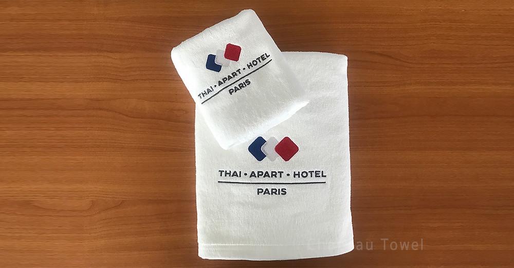 ผ้าขนหนูโรงแรมหรือรีสอร์ท