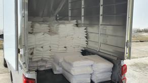 ผ้าสำหรับโรงพยาบาลสนาม