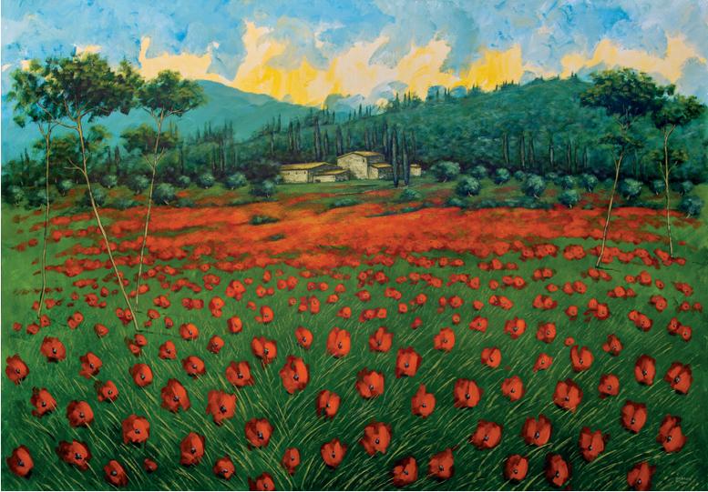 """Campagna Toscana"" (ad Alessandro, amico mio)"