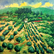 """""""Collina in Toscana"""""""