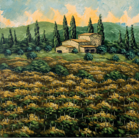 """""""Vigneti in Toscana"""""""