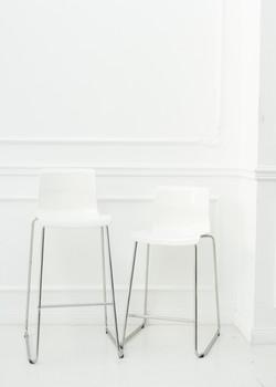 Designstühle weiß