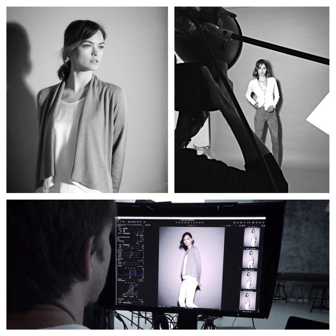 White-T Campaign Shooting