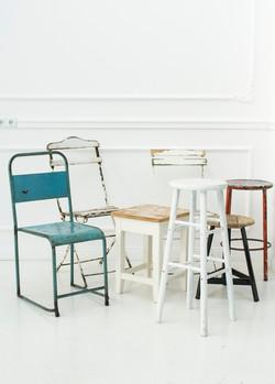 Designstühle im Industrialdesign