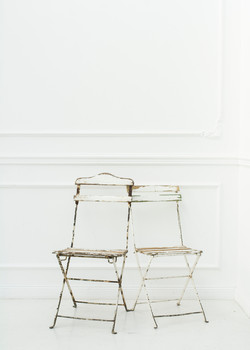 Stühle im Shabby Chic Look