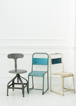 Stühle im Industrialdesign