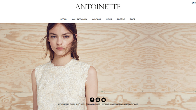 Antoinette Fashion @ milk.city studio