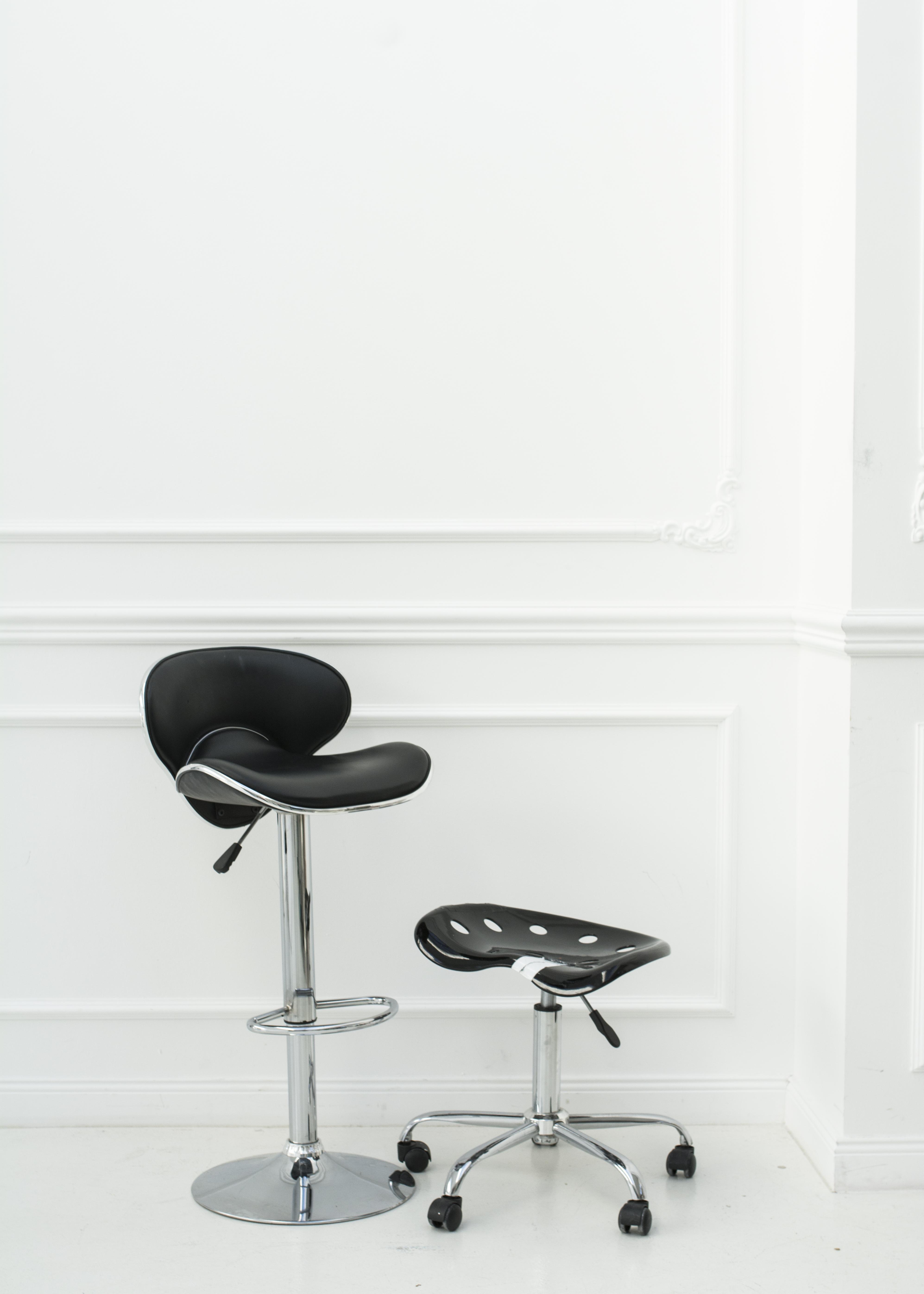 Designstühle schwarz