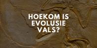 Hoekom is evolusie vals, en hoekom kan 'n Christen nie glo in evolusie nie?
