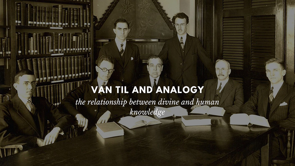Van Til and analogy