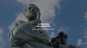 Aristotle   Christian vs Pagan Philosophy