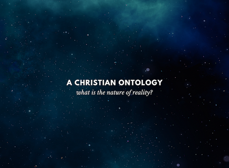 A Christian Ontology