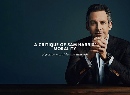 A Critique Of Sam Harris' Morality