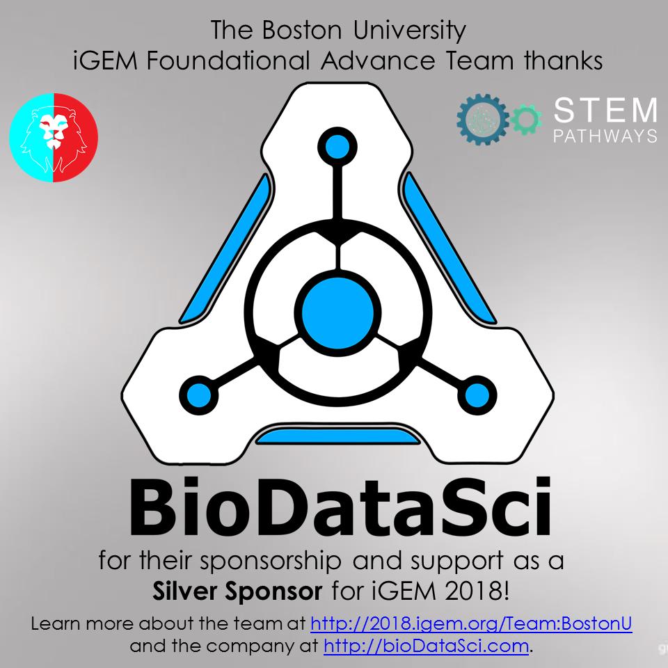 BioDataSci sponsorship shoutout