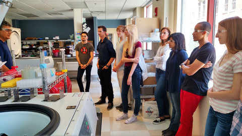 iGEM Teams Tour Monsanto