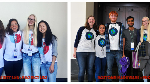 Hard-work bears fruit for the BostonU iGEM teams